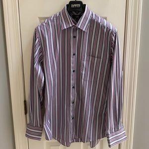 NWOT XMI stripped shirt size 16 34/35